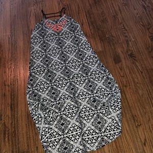 Aztec Printed Dress
